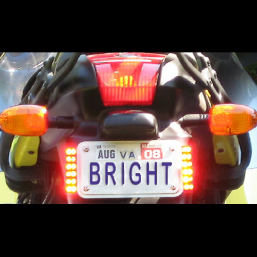 P3 Lights Rear Led System Bobs Bmw Bike Tail Light Flashing Loading Zoom