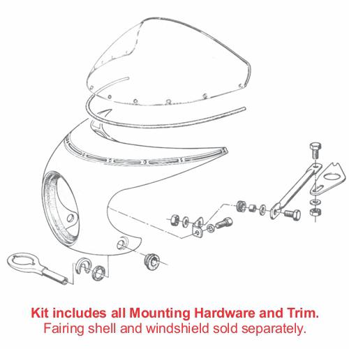 S Fairing Installation Kit Bobs Bmw K100 Wiring Loom Loading Zoom
