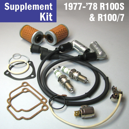 full service supplement kit for 1977 39 78 r100s bob 39 s bmw. Black Bedroom Furniture Sets. Home Design Ideas