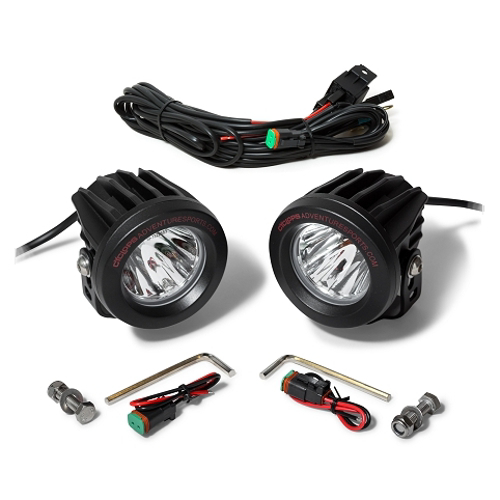 Cyclops Long Range Optimus Led Auxiliary Light Set Bobs Bmw Off Road Lights Wiring Diagram Aux Loading Zoom