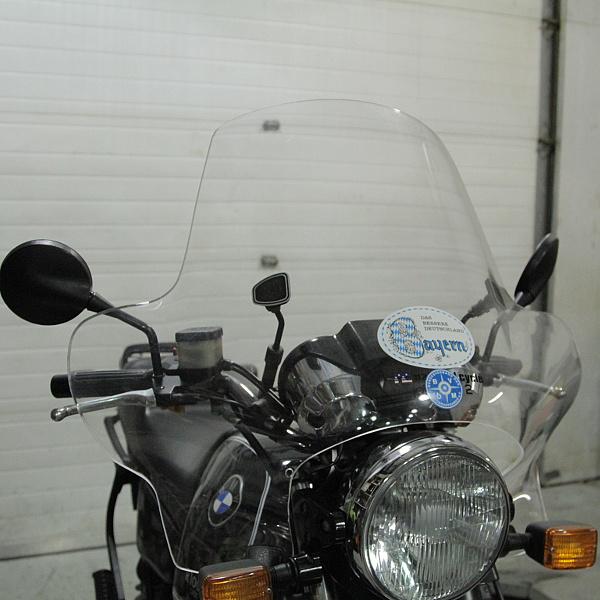 plexistar 2 windshield for bmw classic motorcycles | bob's bmw