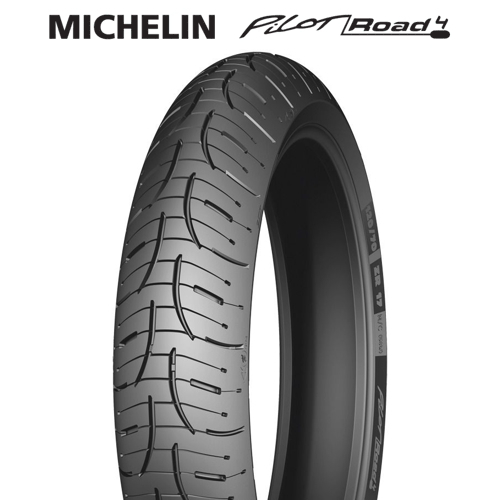 michelin pilot road 4 front tire 120 70zr17 reg. Black Bedroom Furniture Sets. Home Design Ideas