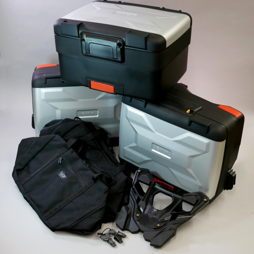 Deluxe Bmw Vario Luggage Set For R1250gs R1200gs 2013