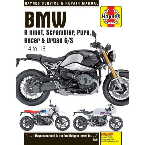 Haynes Manual Bmw R Ninet Scrambler Pure Racer Urban G S