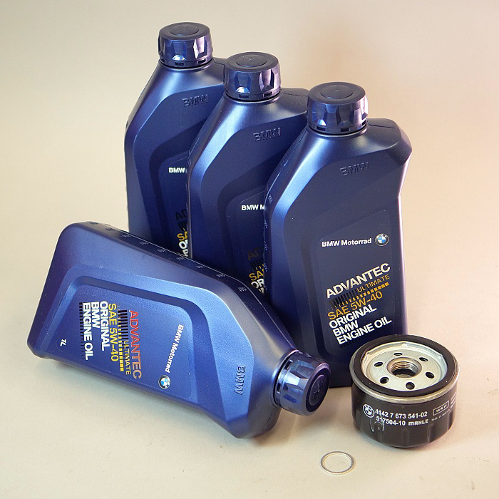 10% OFF! Complete Oil Change Kit For Water-Cooled R-Bikes
