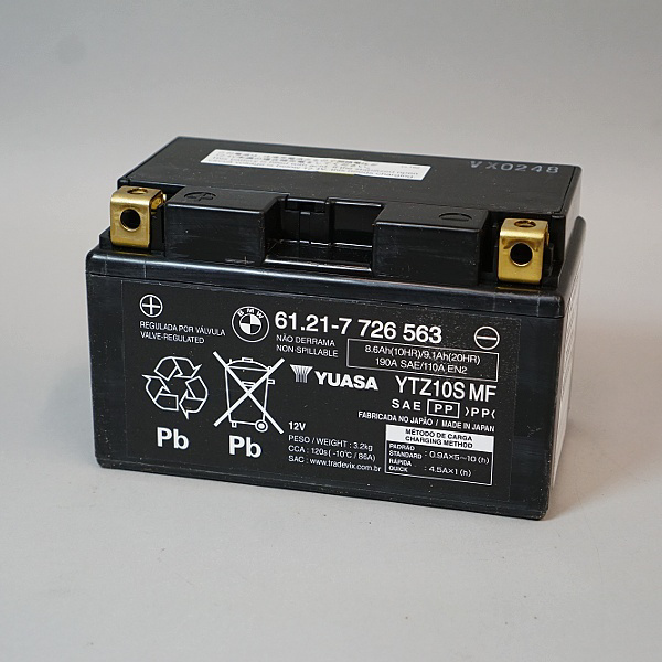 BMW Battery 12V Sealed For 2010-2016 S1000RR & G650 X