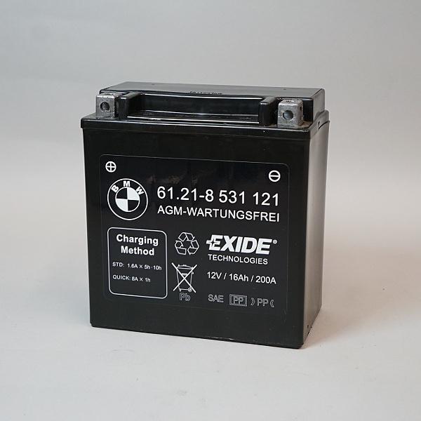 BMW Battery 12V Sealed for R1200RT(W), K1600 Bagger/GT/GTL ...