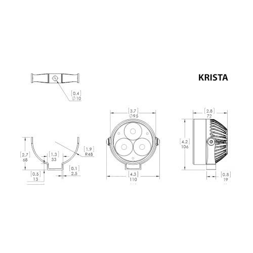 clearwater krista led light kit  s1000xr