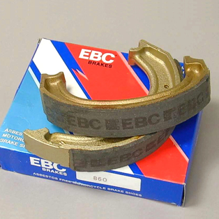 EBC Brake Shoe Set, REAR 1981->