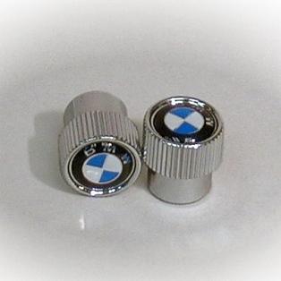 BMW Emblem, Logo Valve Stem Caps (PAIR)