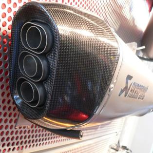 Akrapovic Sport Mufflers - K1600GT/GTL