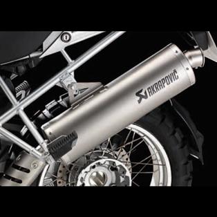 Akrapovic Sport Muffler - R1200GS & Adv (2010->)