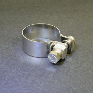 Keihan Stainless Steel Muffler Clamp 38mm
