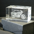 BMW R90S Lexan Cube Display