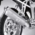 BMW Sport Muffler - K1200S/R Titanium
