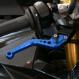 Pazzo Lever Set, S1000RR, Short Blue