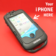 Interphone iPhone4 Case with Handlebar Mount