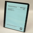 BMW Repair Manual - R26 & R27, Repro
