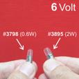 6 Volt Parking /Indicator Bulb, 2W