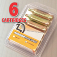 6-Pack: Std.CO2 Cartridges - NON Threaded