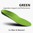 Superfeet Insoles, Green for Men & Women