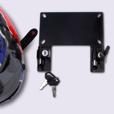 ZTechnik Helmet Lock License Plate Frame