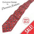 Silk Necktie - Classic Racers