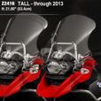 ZTechnik VStream Touring Screen - R1200GS Adv (->'13), Tall