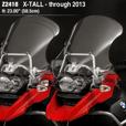 ZTechnik VStream Touring Screen - R1200GS Adv (->'13) X-Tall
