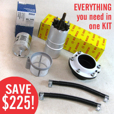 Complete BOSCH Fuel Pump Kit for K Bikes