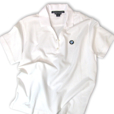 Womens BMW Logo Polo - White