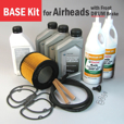 Full Service BASE Kit for Airheads, 1970-'76 - Front Drum Brake