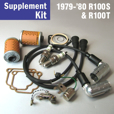 Full Service Supplement Kit for 1979-'80 R100T & R100S