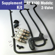 Full Service Supplement Kit for All 2-Valve K100 Models
