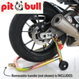 Pit Bull SS Rear Stand with Removable Handle