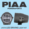 PIAA LP270 LED Driving Light Kit, 2.75 inches