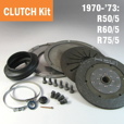 Complete Clutch Kit for Airheads, 1970-'73