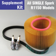 Full Service Supplement Kit for R1150 RS/RT/GS/R, Single Spark