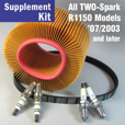 Full Service Supplement Kit for R1150 RS/RT/GS/R, 2-Spark 7/03->