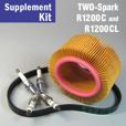 Full Service Supplement Kit for R1200C & R1200CL, 2-Spark