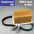 Full Service Supplement Kit for R1100S, Single Spark
