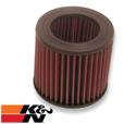 K&N Air Filter, Air-Heads 1970 to '78 (round)