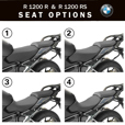 BMW Seat Options for R1200RS & R1200R