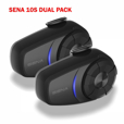 Sena 10S Bluetooth Communication System - Dual Pack