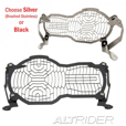 AltRider Headlight Guard, Stainless Mesh, R1200GS(W) & Adv.