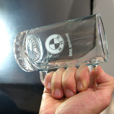 BMW Glass Beer Mug