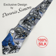 Silk Necktie - Vintage Classics