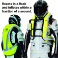 Held Inflatable Protector Vest