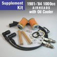 Full Service Supplement Kit for 1981-'84 1000cc WITH Oil Cooler