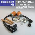 Full Service Supplement Kit for 1981-'84 1000cc WITHOUT Oil Cooler